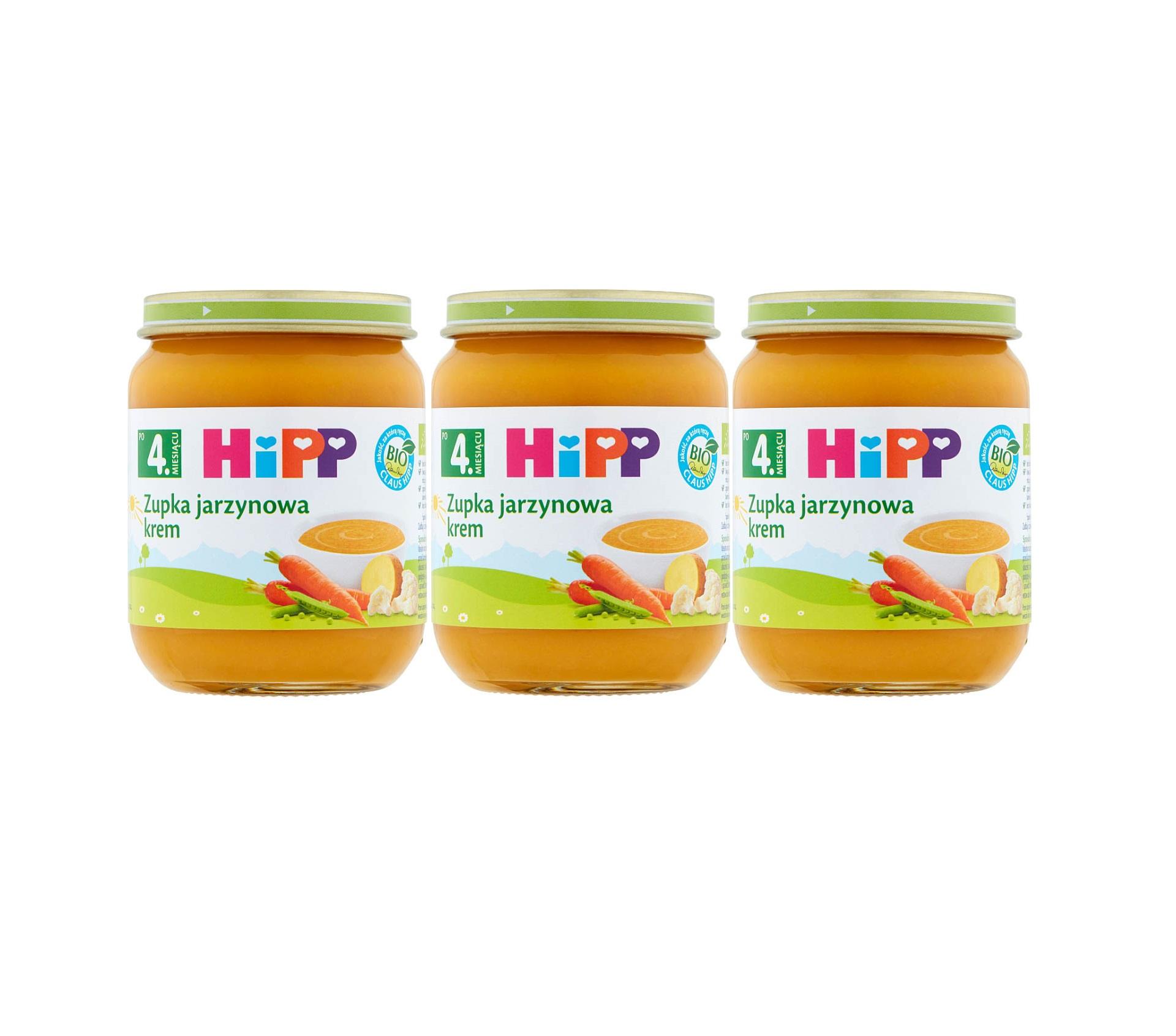 3 pak hipp 125 zupka jarzynowa krem