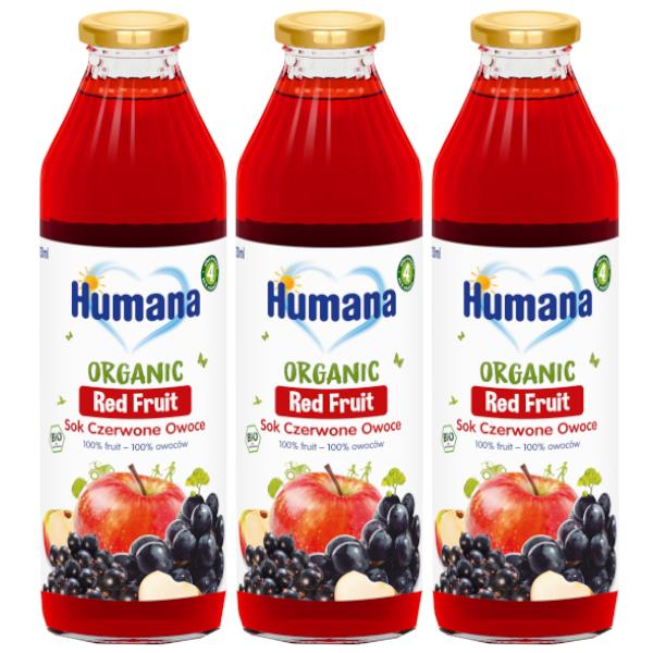 3pak humana czerwone owoce