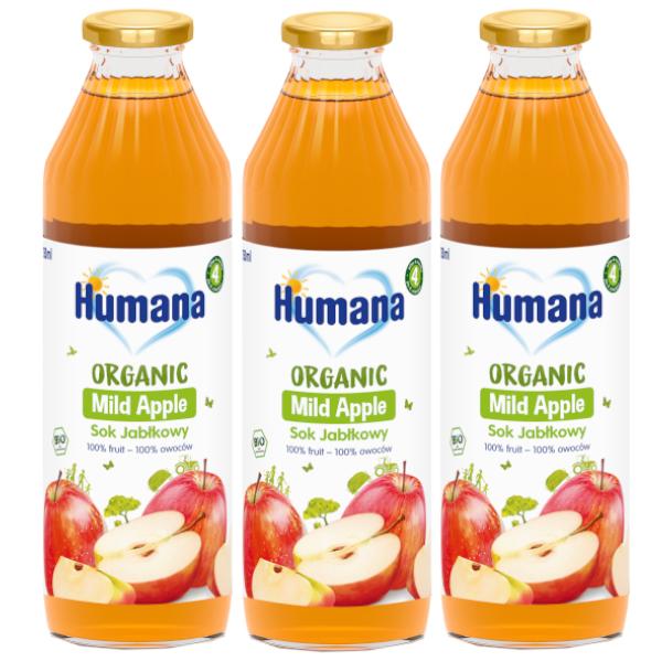 3pak humana jablko