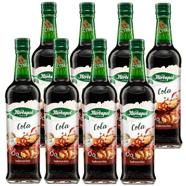 8 pak cola herbapol
