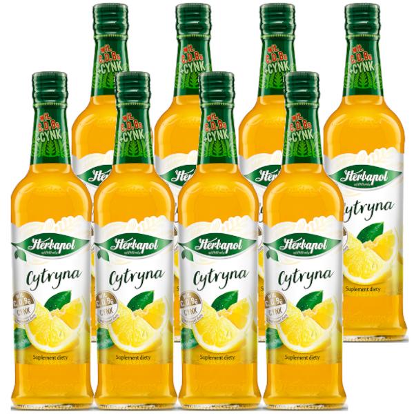 8 pak cytryna herbapol