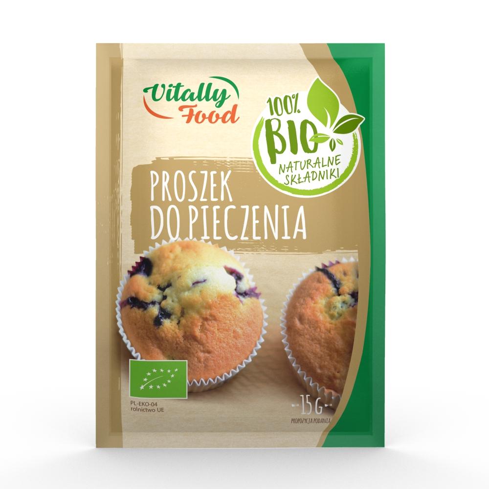 BIO Proszek do pieczenia 15g Vitally Food