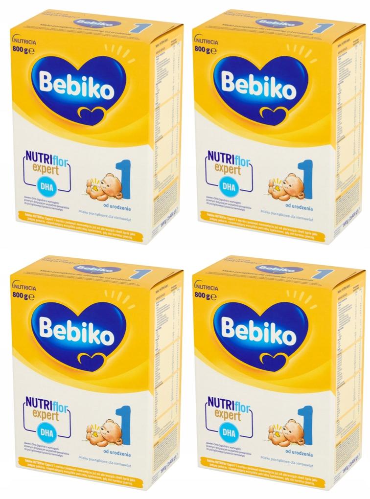 Bebiko-NutriFlor-1-Mleko-modyfikowane-4-x-800g