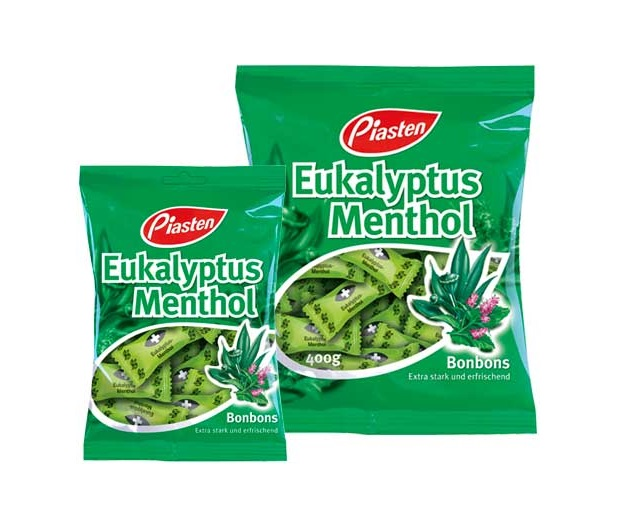 Cukierki eukaliptusowo-miętowe