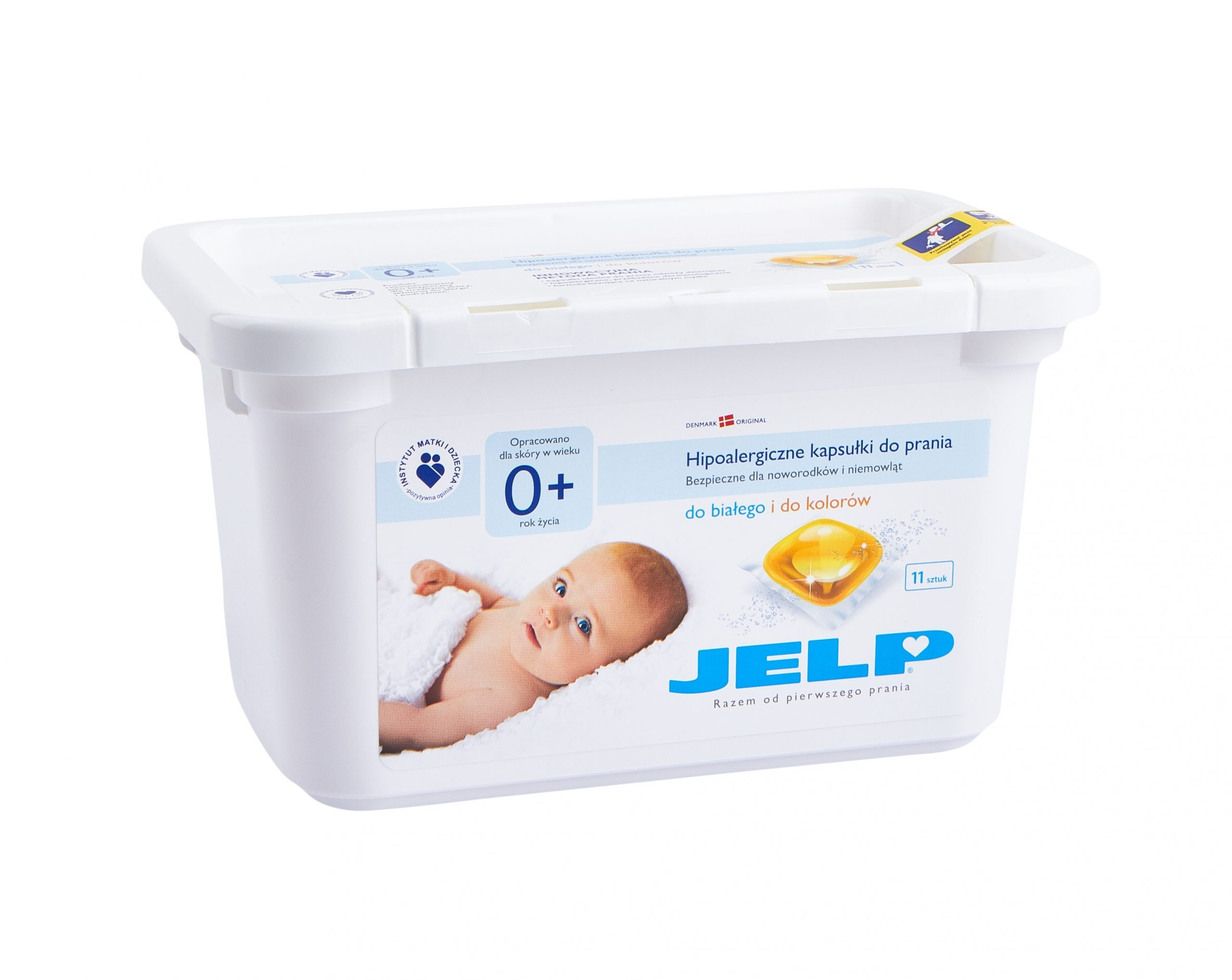 JELP 0+ hipoalergiczne kapsulki do prania 11 szt