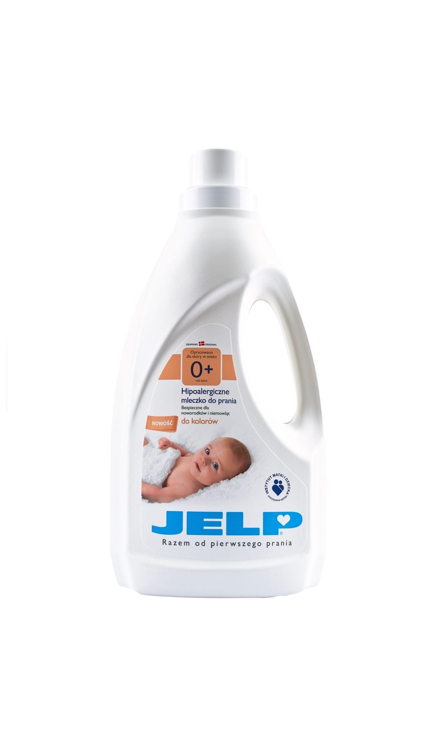 JELP 0+ hipoalergiczne mleczko do kolorow 1,5 L