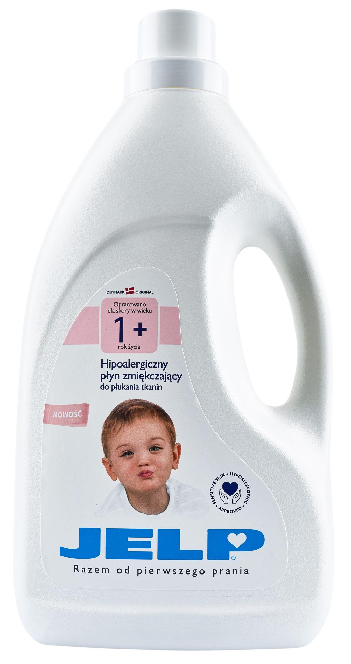 JELP 1+ hipoalergiczny plyn zmiekczajacy 2 L