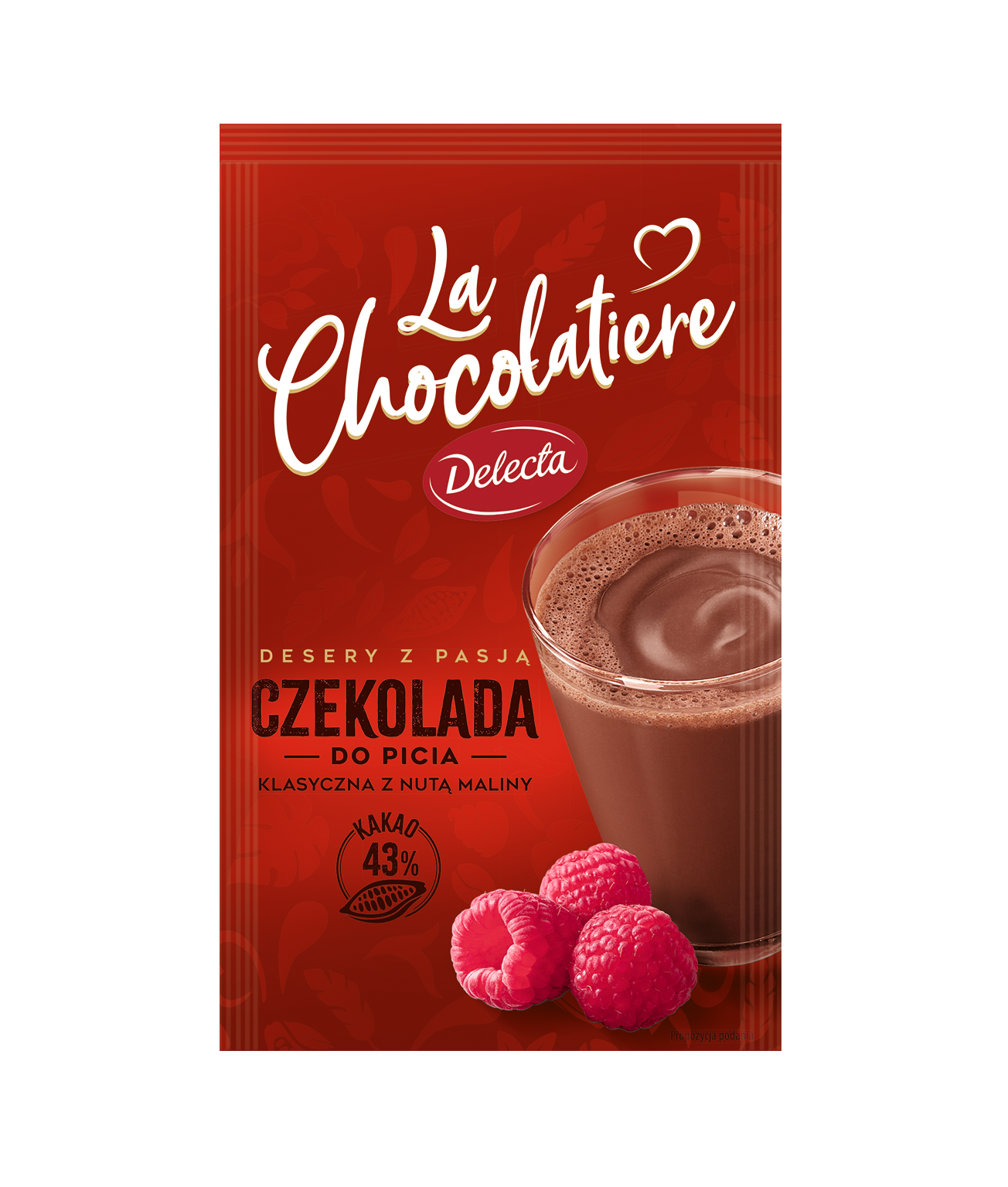 LaChocolatiere_Czekolada do picia_z malinami