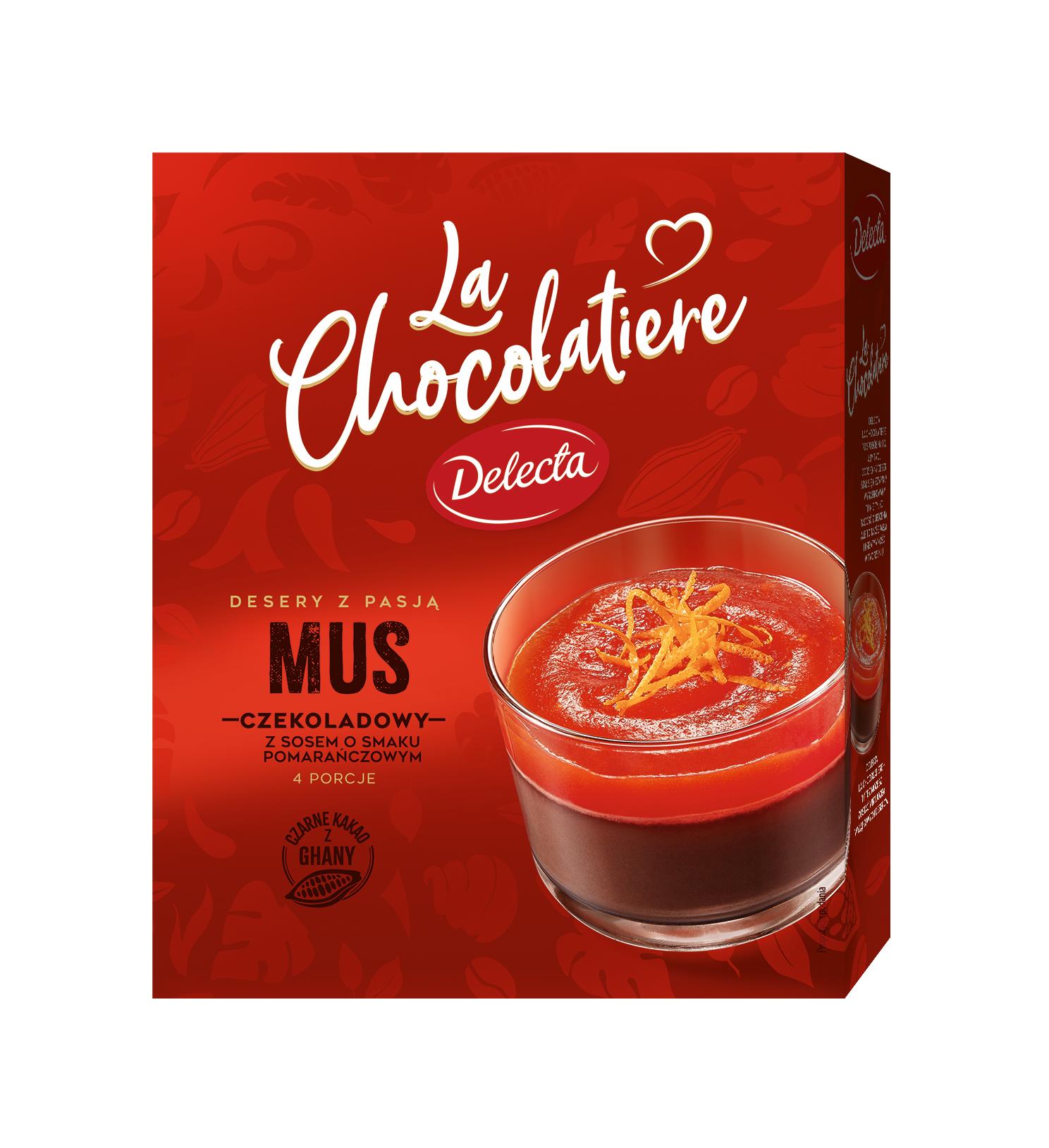 LaChocolatiere_Mus czekoladowy z sosem pomaranczowym