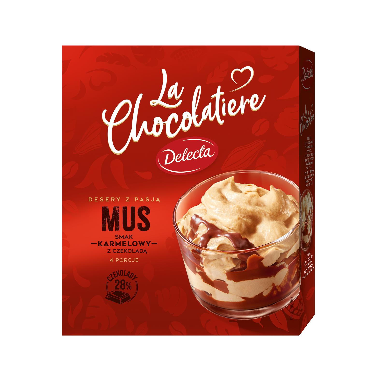 LaChocolatiere_Mus smak karmelowy z czekolada