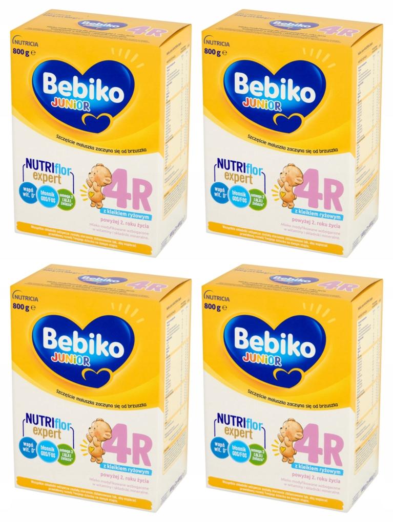 Mleko-modyfikowane-Bebiko-4R-Zestaw-4x800g