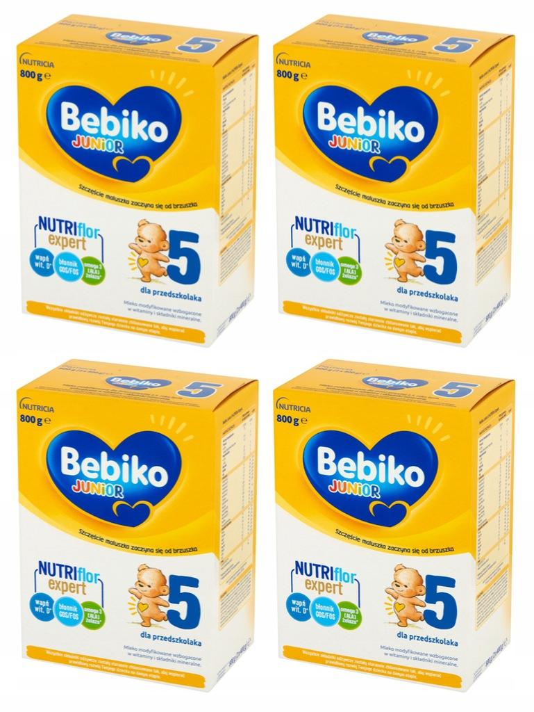 Mleko-modyfikowane-Bebiko-Junior-5-Zestaw-4x800g