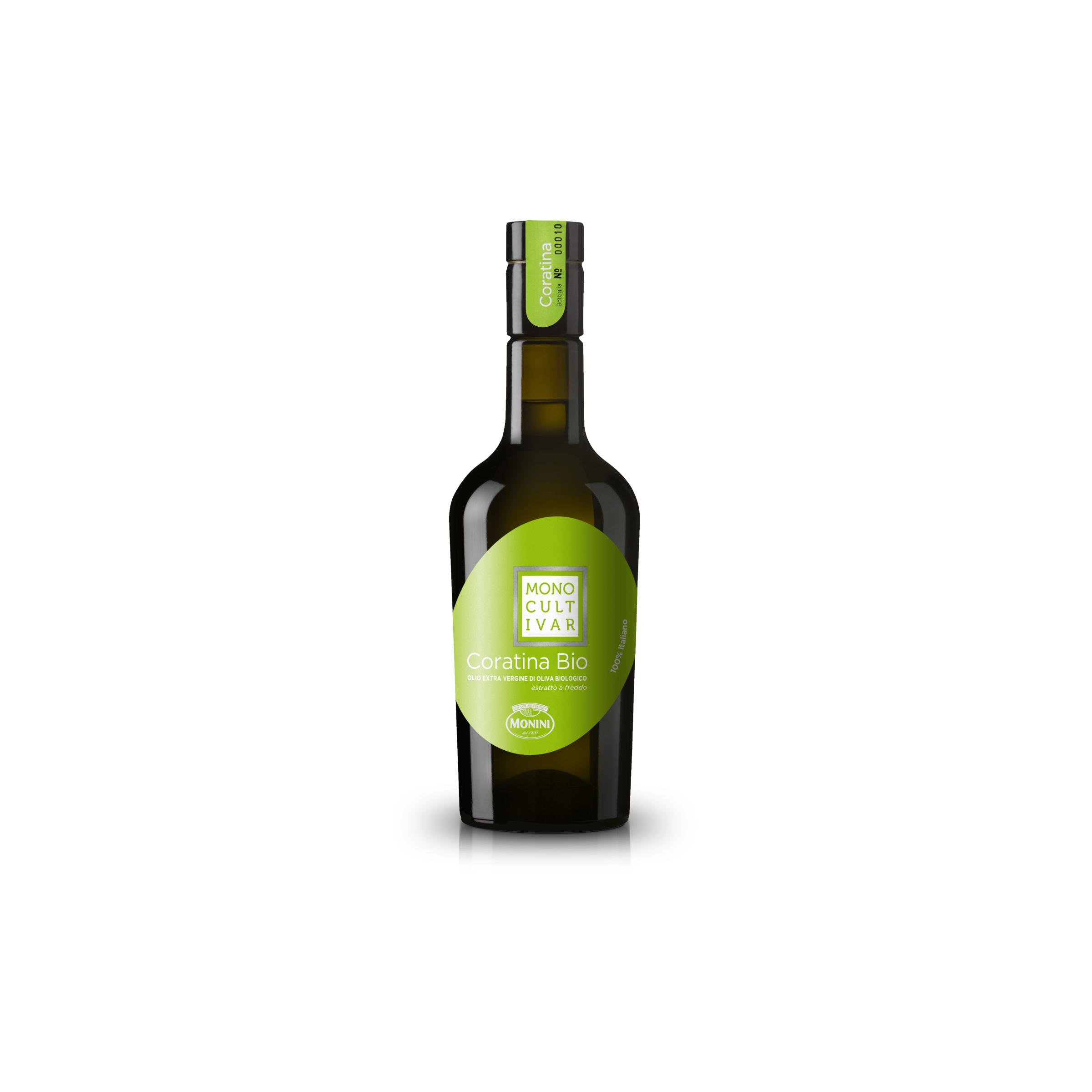 Oliwa z oliwek EV Bio Monocultivar Coratina
