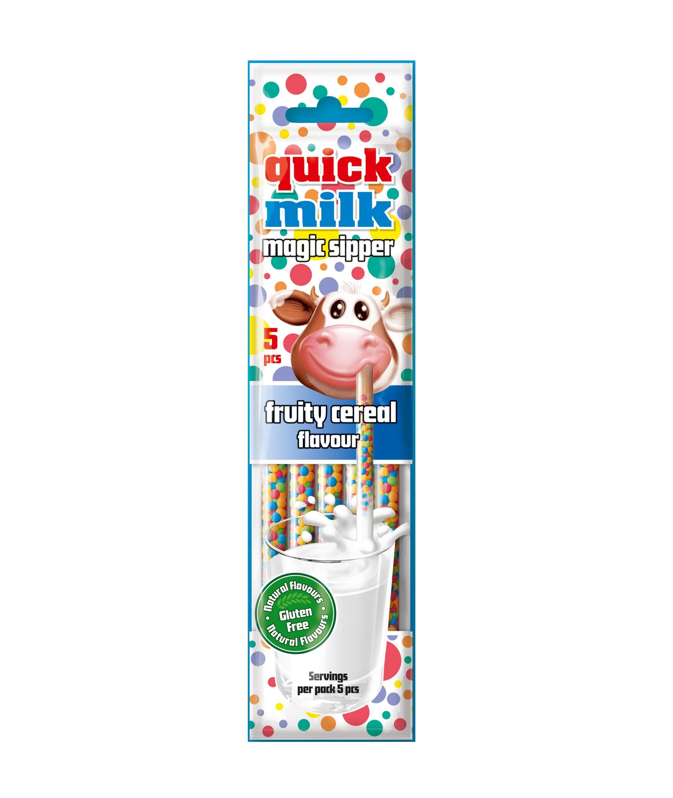 Quick Milk 5 owoce i zboża
