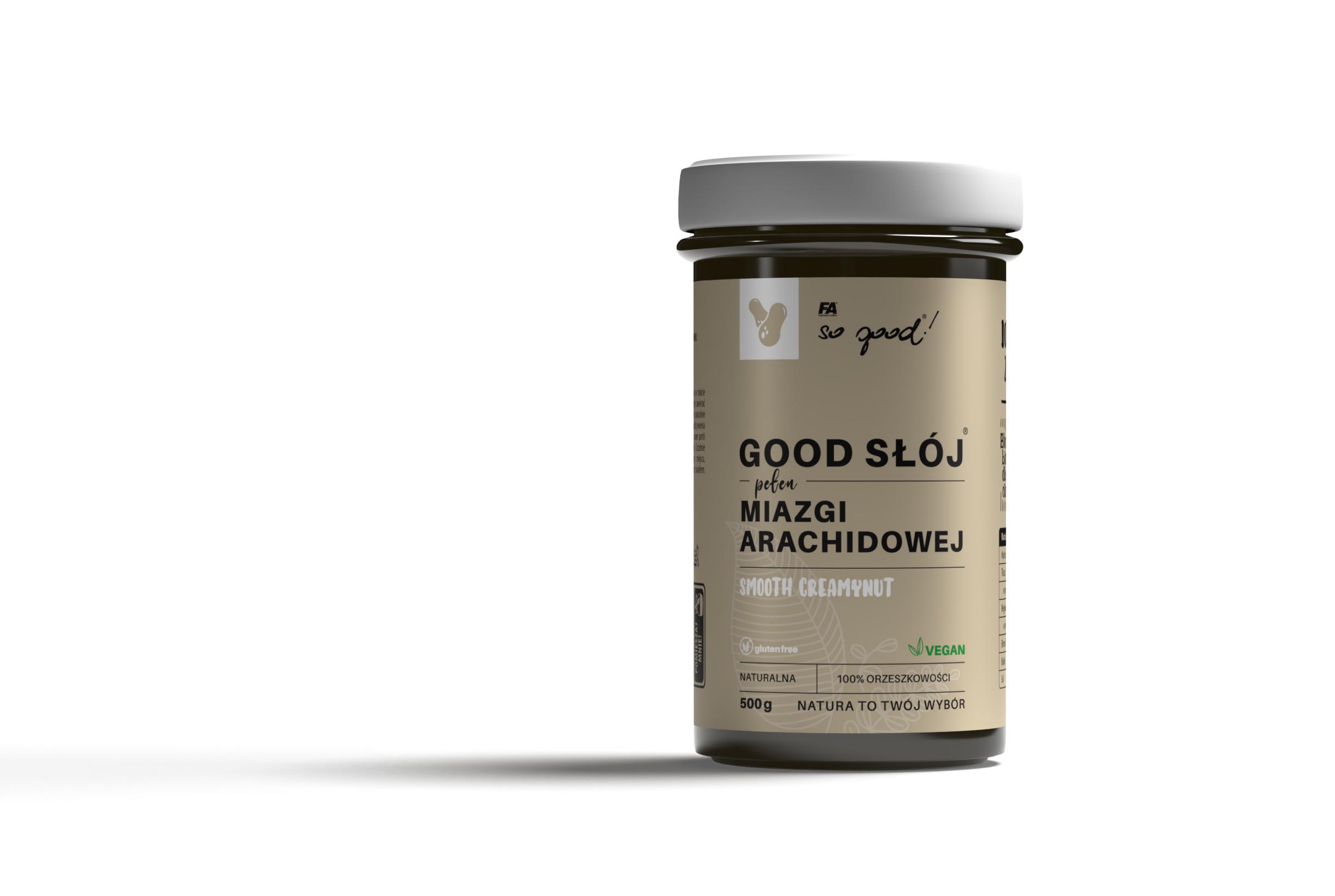 SG Good Slój miazgi arachidowej Smooth – tył