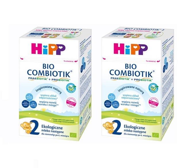 hipp mleko 2 2×550 bez znaczka