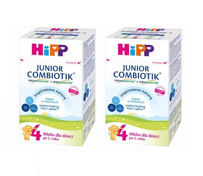 hipp mleko 4 2×550 bez znaczka