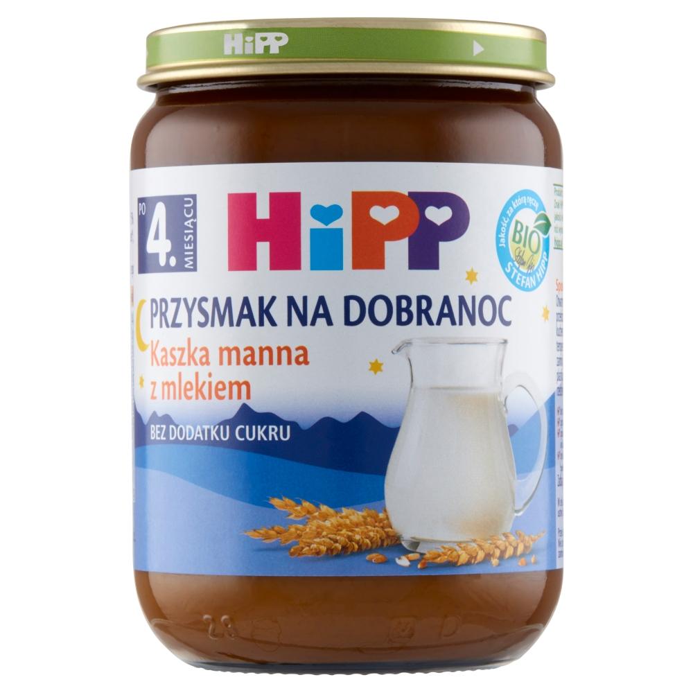 kaszka manna z mlekiem 2