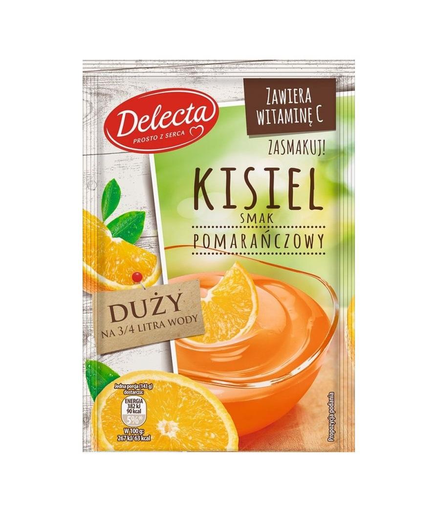 kisiel pomarańczowy delecta