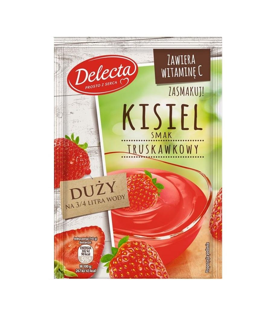 kisiel truskawkowy delecta