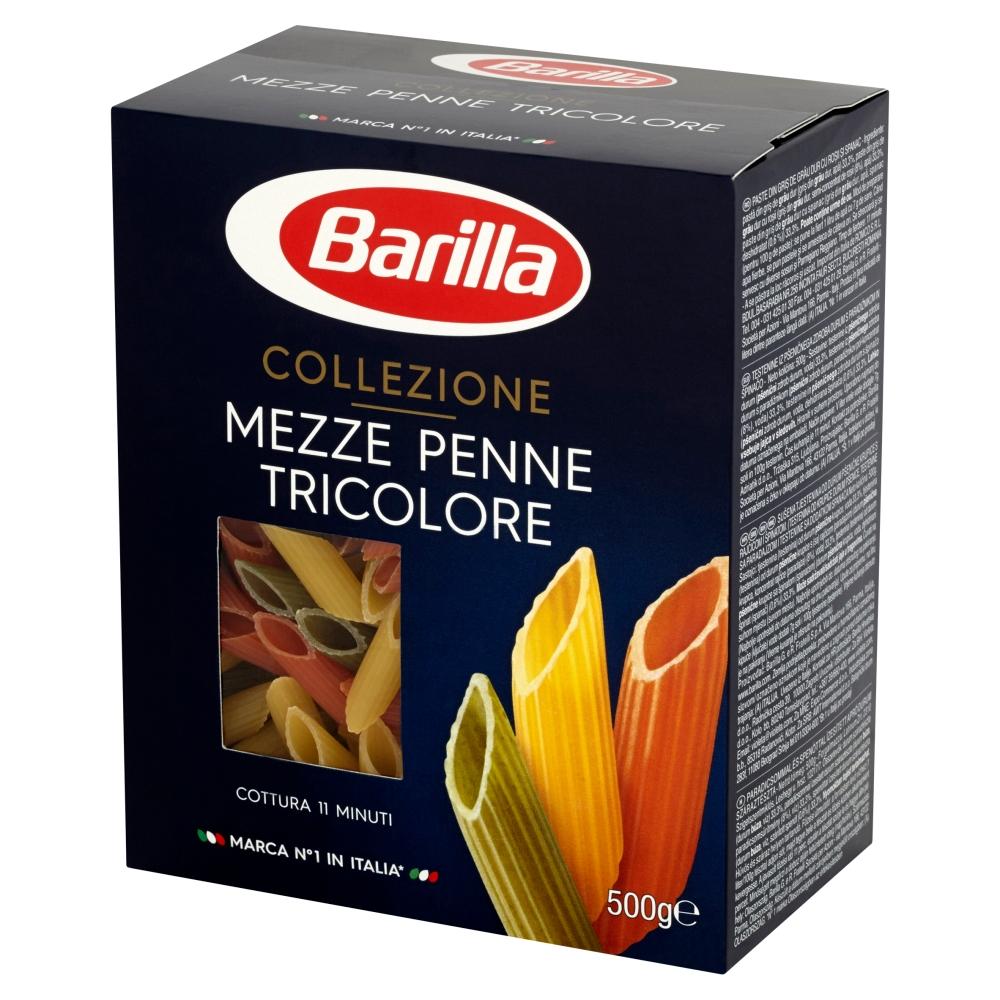 makaron_collecione_mezze_penne_tricolore