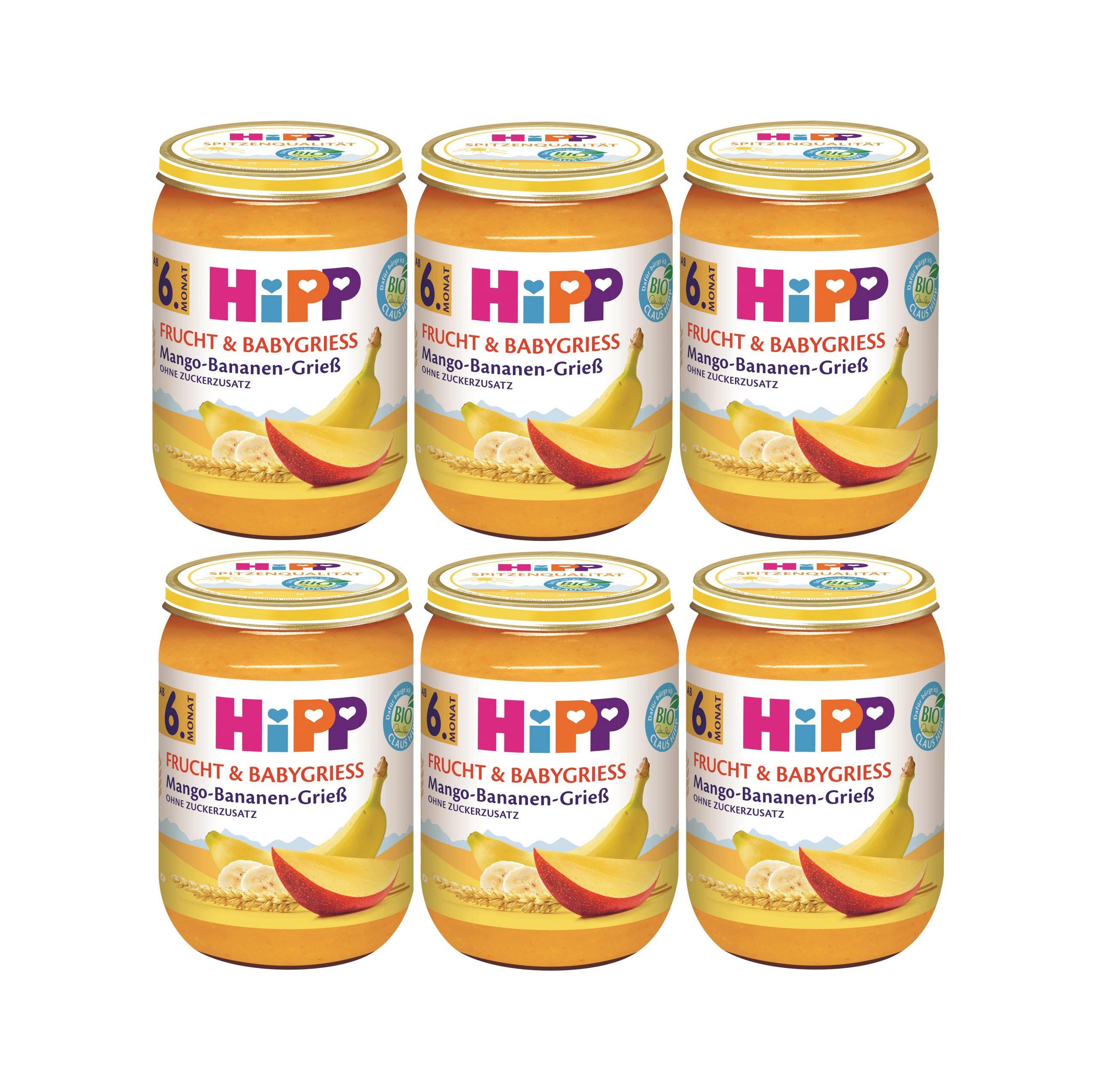 mango z bananem ikaszka 6 szt