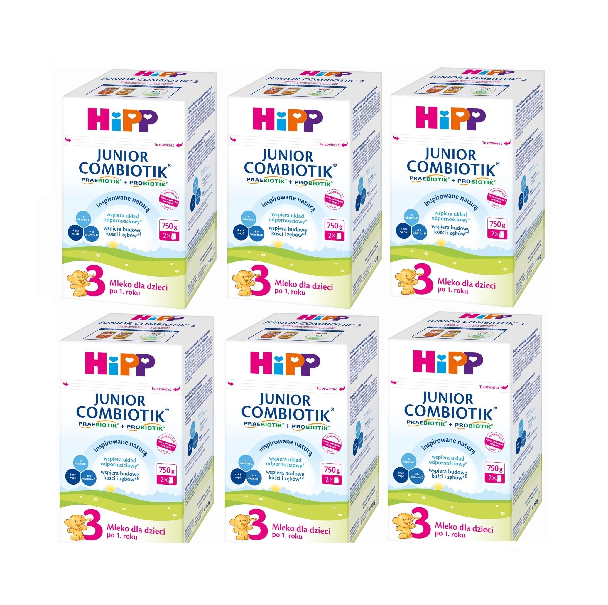 mleko 3 6x_750g hipp bez znaczka