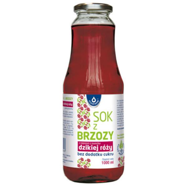 sok z brzozy z dz roza 1l