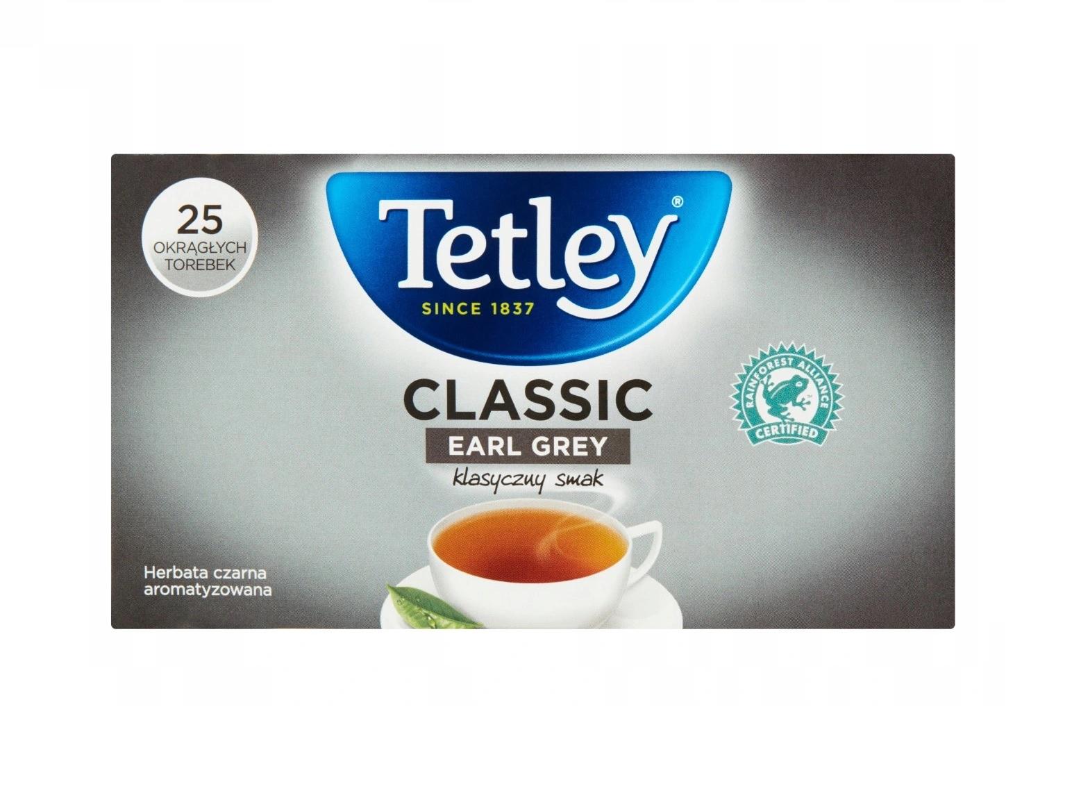 tetley classic earl grey 25
